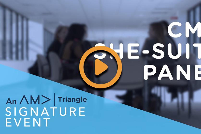 Triangle AMA – CMO Suite Panel Promo